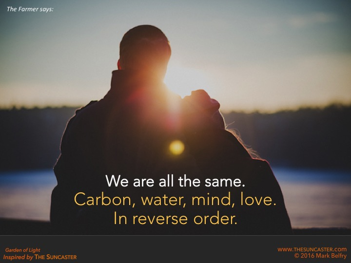 What We're Made Of: Carbon, Water, Mind, Love
